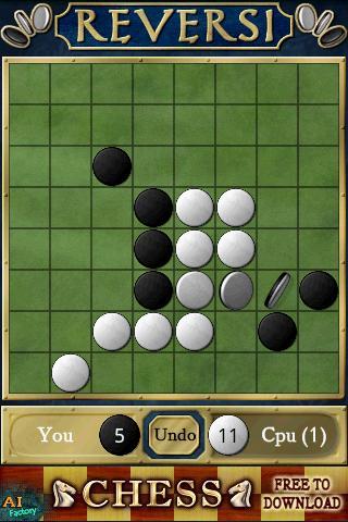 Скриншот Reversi Free для Android