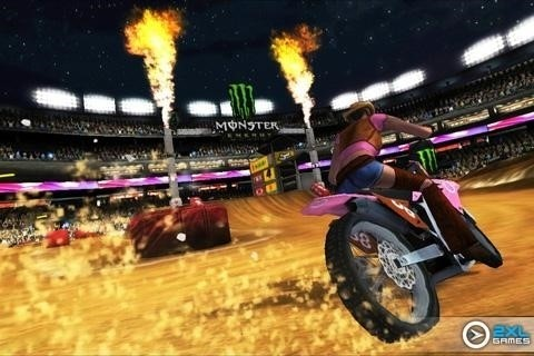Скриншот Ricky Carmichaels Motocross для Android