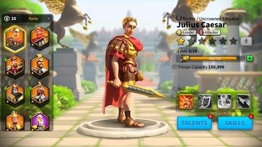 Скриншот Rise of Kingdoms: Lost Crusade для Android