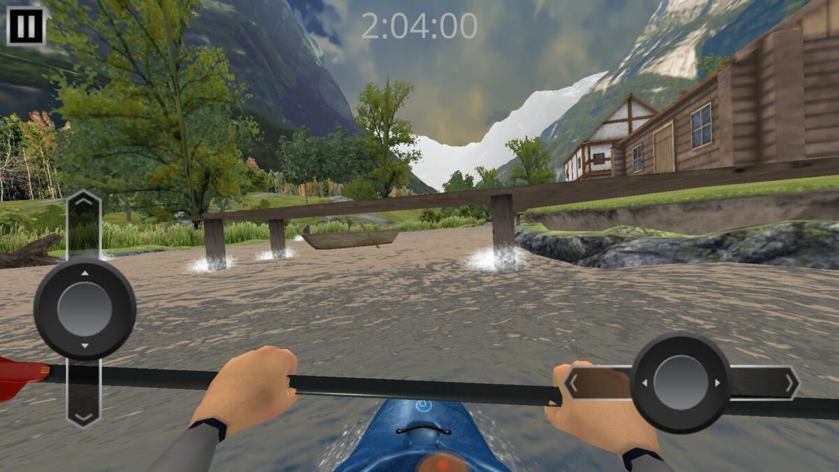 Скриншот RIVER RAFT: whitewater для Android