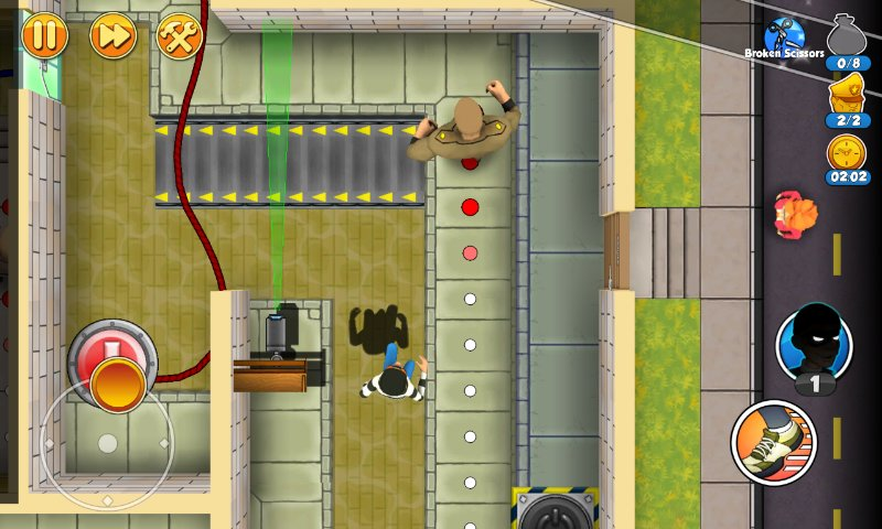 Скриншот Robbery Bob 2: Double Trouble для Android