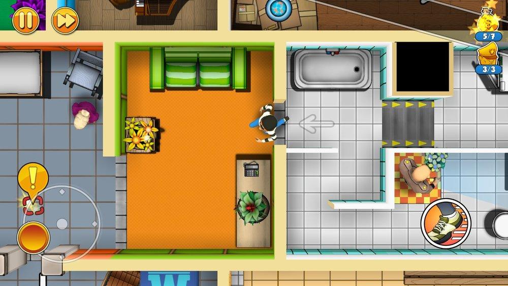 Скриншот Robbery Bob 2: Double Trouble для Android