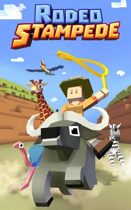Скриншот Rodeo Stampede: Sky Zoo Safari для Android