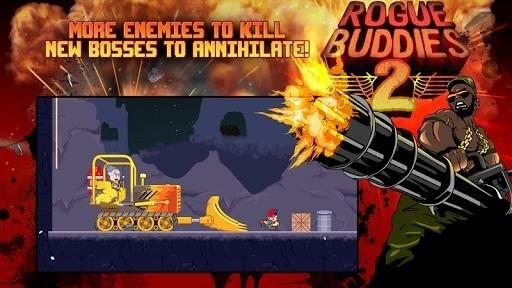 Скриншот Rogue Buddies 2 для Android
