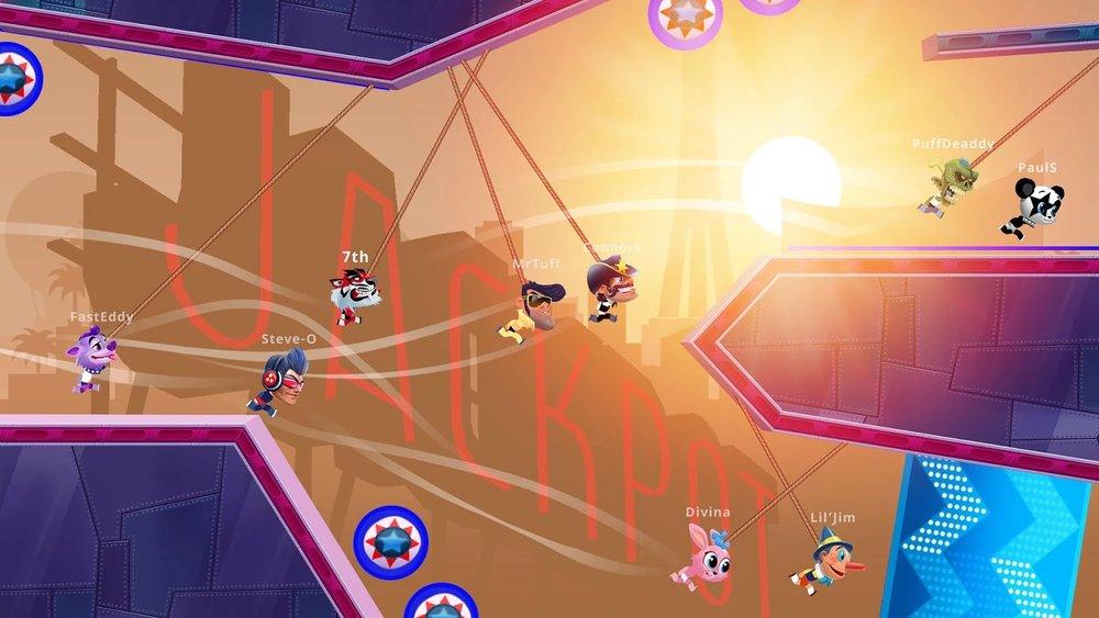 Скриншот Rope Racers для Android