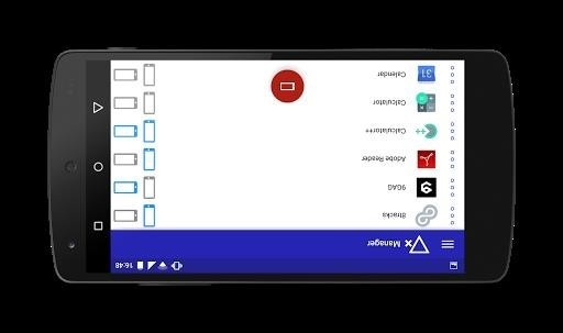 Скриншот Rotation Manager для Android
