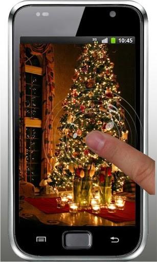 Скриншот Рождественская елка живые обои для Android