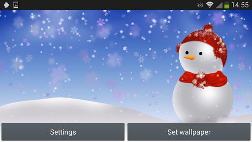 Скриншот Рождественский снеговик для Android