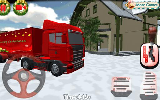 Скриншот Рождество Грузовик Парковка 3D для Android