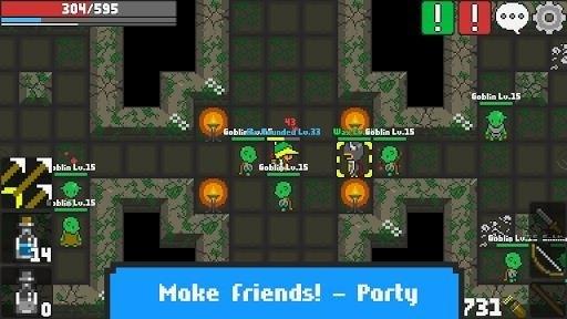 Скриншот Rucoy Online для Android