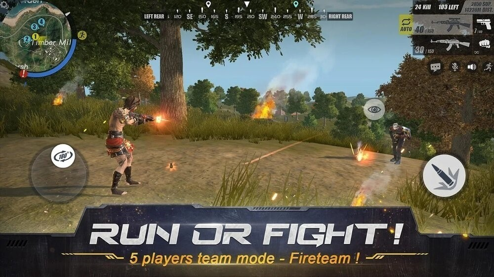 Скриншот Rules of Survival для Android