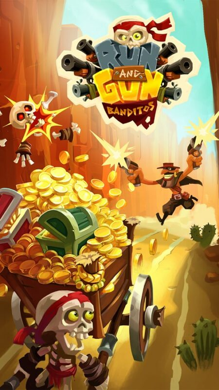 Скриншот Run and gun: Banditos для Android