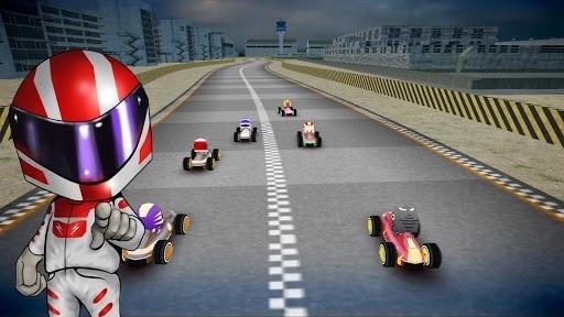 Скриншот Rush Kart Racing 3D для Android
