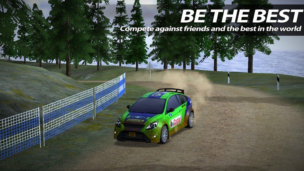 Скриншот Rush Rally 2 для Android