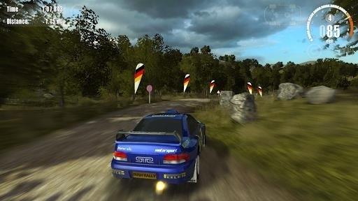 Скриншот Rush Rally 3 для Android