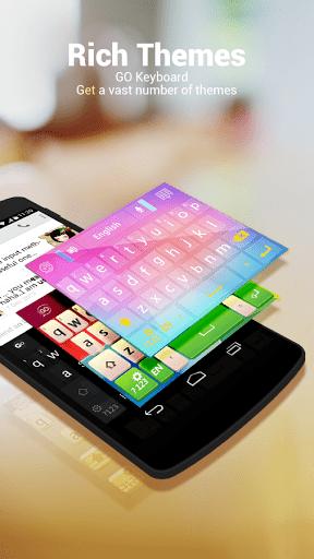 Скриншот Русский язык — GO клавиатуры для Android
