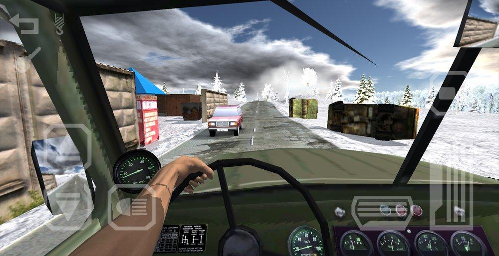 Скриншот Русский Водила 3: В Крым для Android