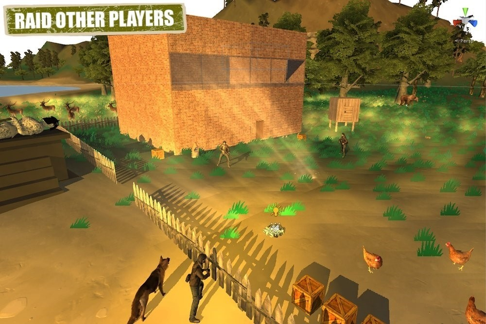 Скриншот Rustland Survival and Craft для Android