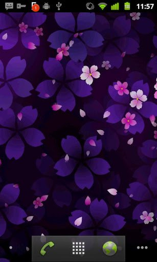 Скриншот Sakura Falling Live Wallpaper для Android