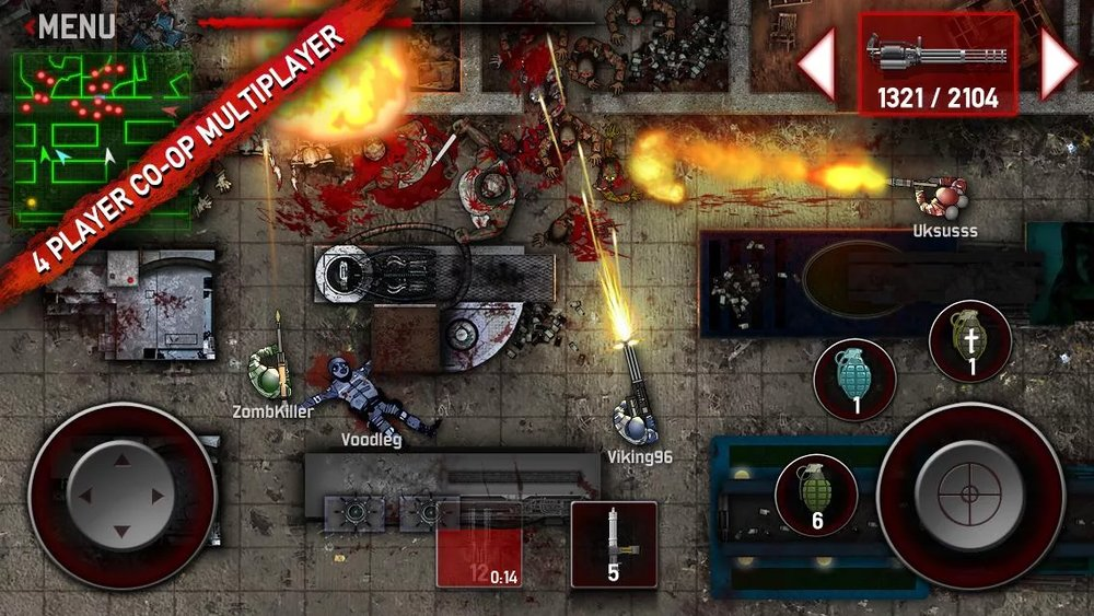Скриншот SAS: Zombie Assault 3 для Android
