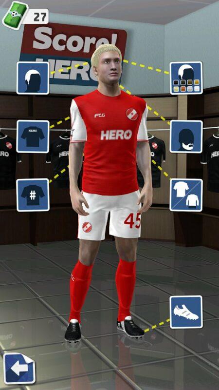 Скриншот Score! Hero для Android