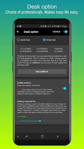 Скриншот Screen Lock Pro для Android