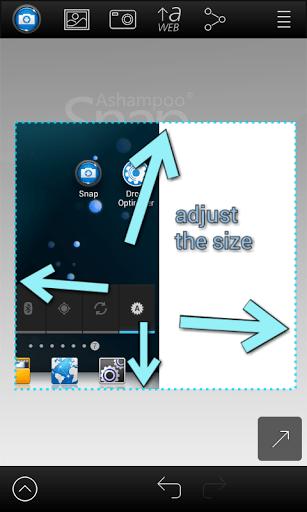 Скриншот Screenshot Snap для Android