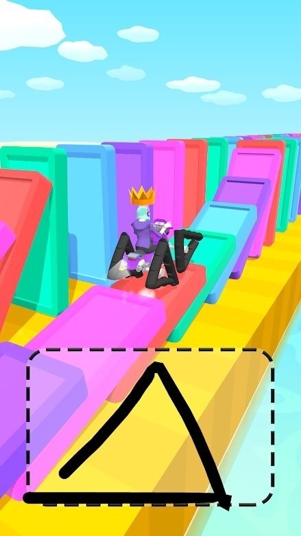 Скриншот Scribble Rider для Android