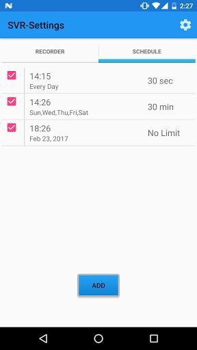 Скриншот Secret Video Recorder для Android