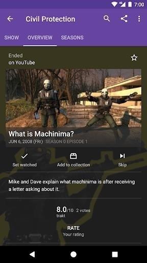 Скриншот SeriesGuide для Android