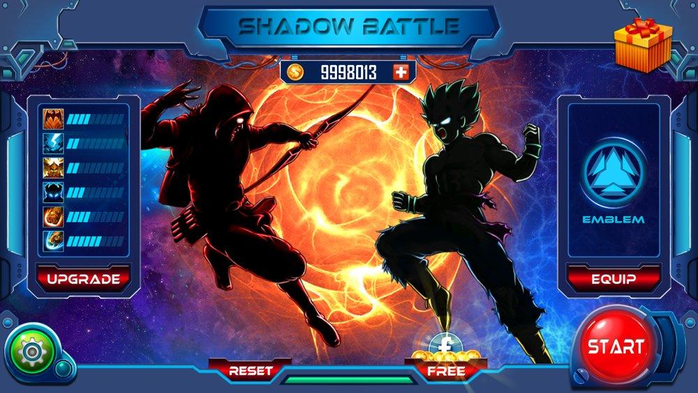 Скриншот Shadow Battle для Android