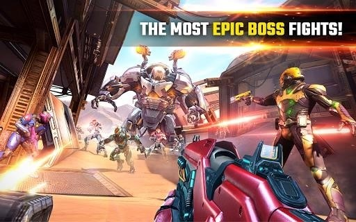 Скриншот Shadowgun Legends для Android