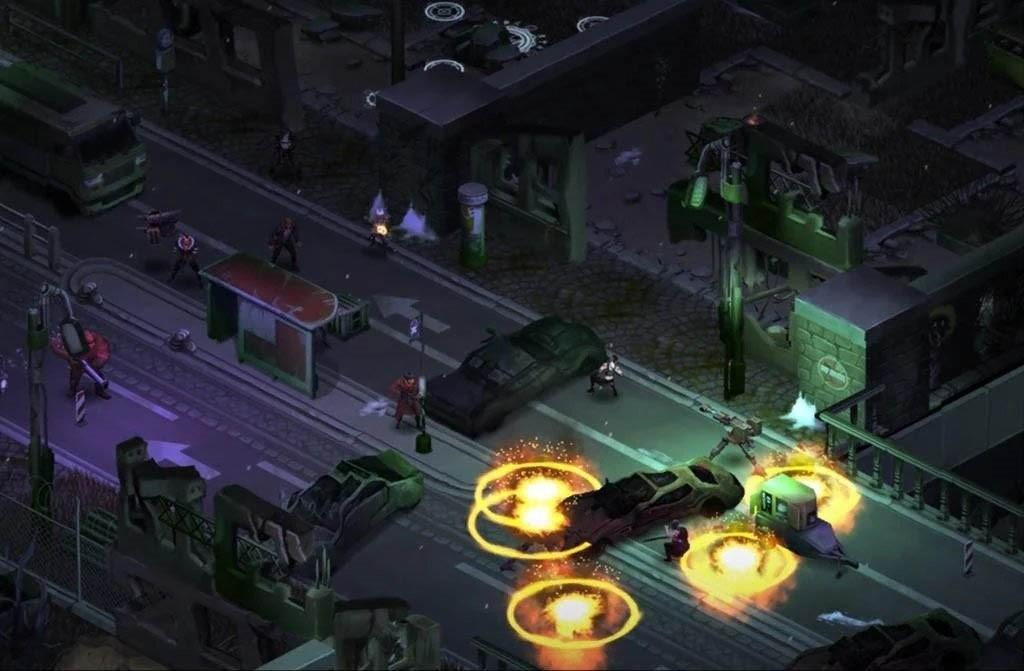 Скриншот Shadowrun: Dragonfall DC для Android