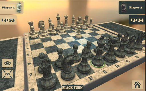 Скриншот Шахматы: 3D Фьюжин для Android
