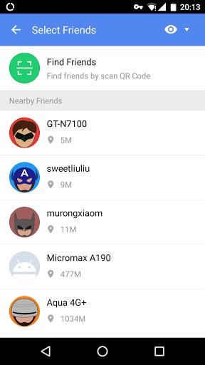 Скриншот ShareCloud (Share Apps) для Android