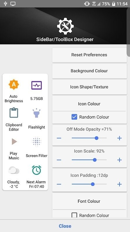 Скриншот Shortcutter Quick Settings для Android
