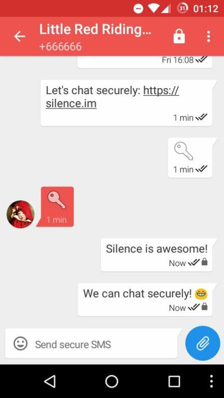 Скриншот Silence для Android