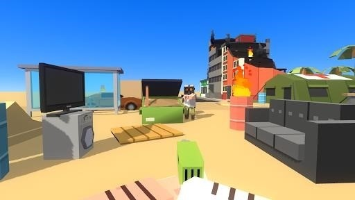 Скриншот Simple Sandbox для Android