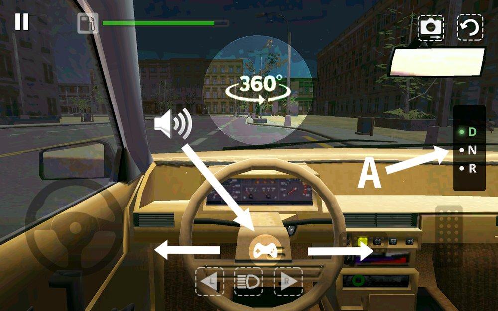 Скриншот Симулятор Автомобиля для Android