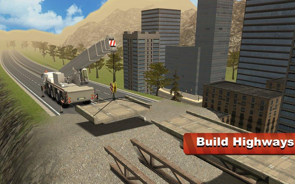 Скриншот Симулятор Башенного Крана для Android
