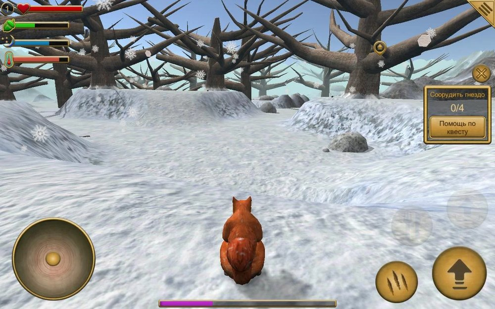 Скриншот Симулятор Белки для Android