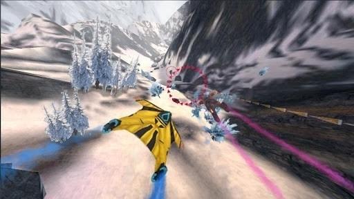 Скриншот Симулятор полета Wingsuit для Android