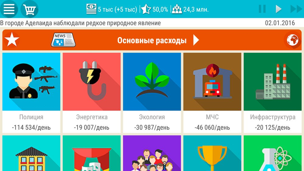 Скриншот Симулятор Президента для Android