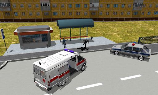 Скриншот Симулятор Скорой Помощи 3D для Android