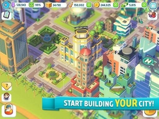 Скриншот Ситимания: Строим Город для Android