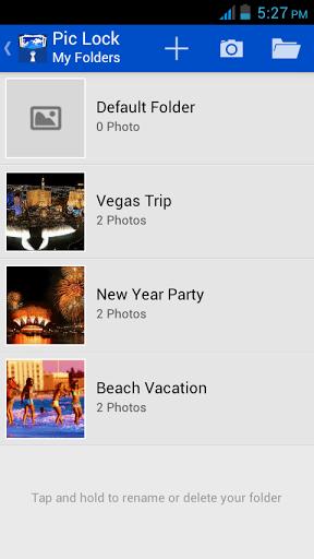 Скриншот Скрыть фото и видео для Android