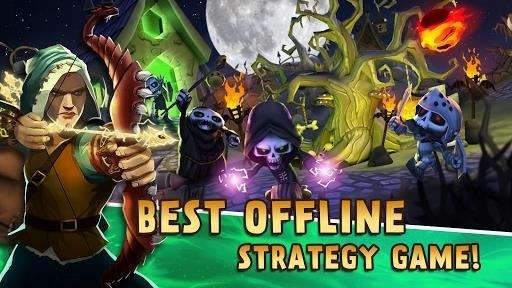 Скриншот Skull Towers для Android