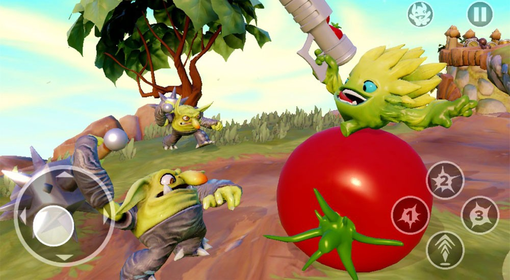 Скриншот Skylanders Trap Team для Android