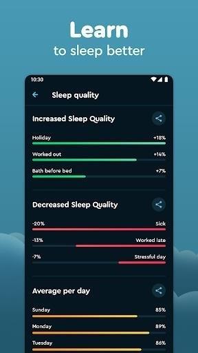 Скриншот Sleep Cycle для Android