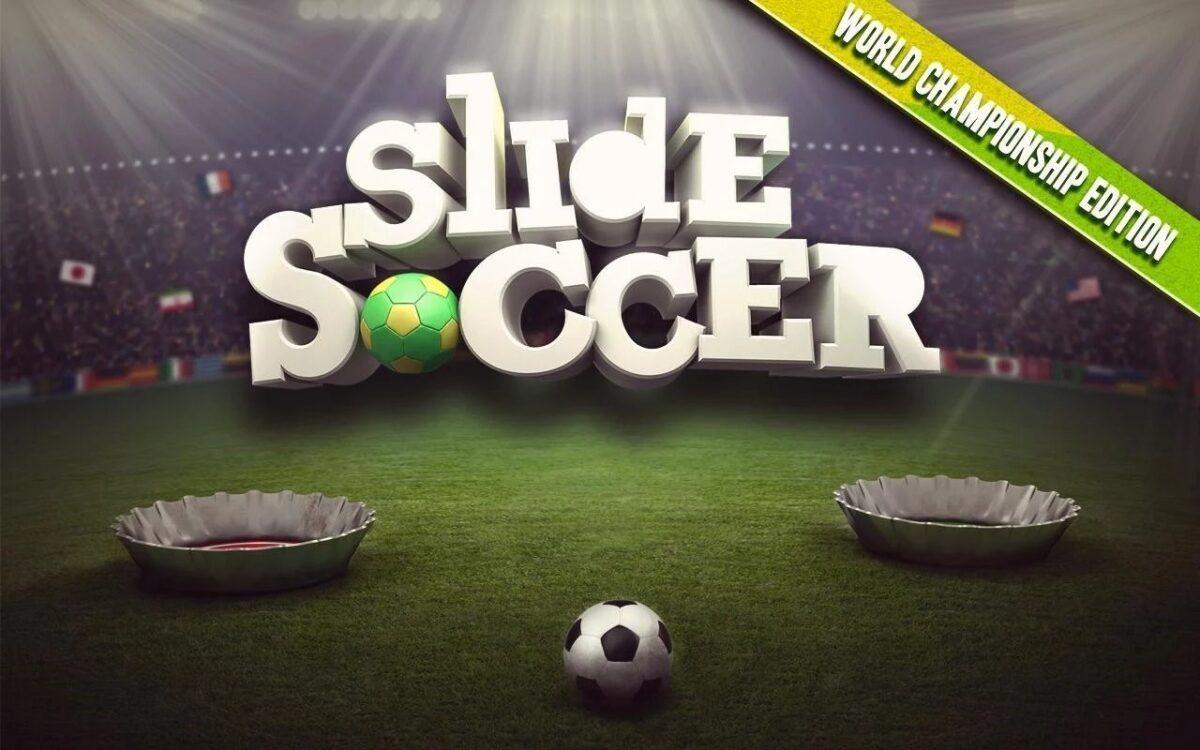 Скриншот Slide Soccer для Android